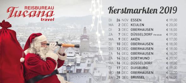 Tucana Travel Kerstmarkten 2019